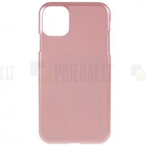 Apple iPhone 11 Pro Mercury gaiši rozs cieta silikona (TPU) apvalks