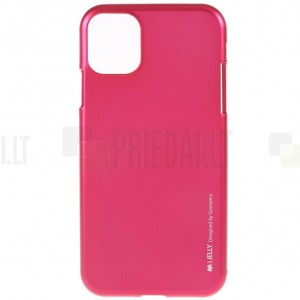 Apple iPhone 11 Pro Mercury tumši rozs cieta silikona (TPU) apvalks