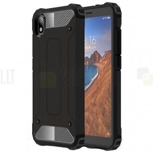Pastiprinātas aizsardzības melns Xiaomi Redmi 7A apvalks