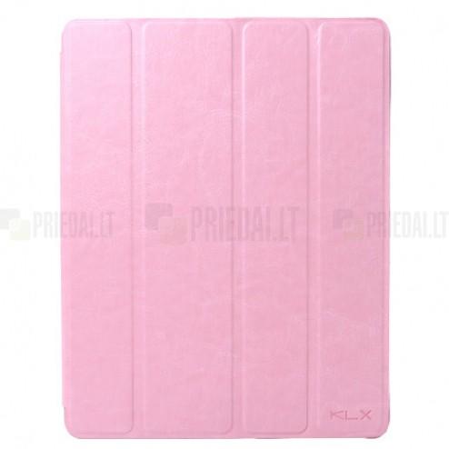 """""""Kalaideng"""" Enland Apple iPad 4 (iPad 3, 2) atvēramais rozs maciņš"""