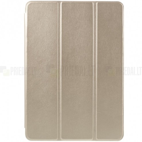 Apple iPad Air 2 plāns atvēramais zelta futrālis