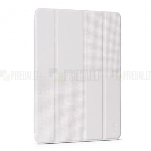 """Greznais """"HOCO"""" Crystal Fashion sērijas ādas atvērams balts Apple iPad Air 2 futrālis"""