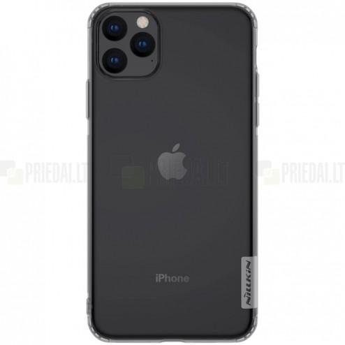 Apple iPhone 11 Pro Max Nillkin Nature pelēks (caurspīdīgs) silikona planākais apvalks