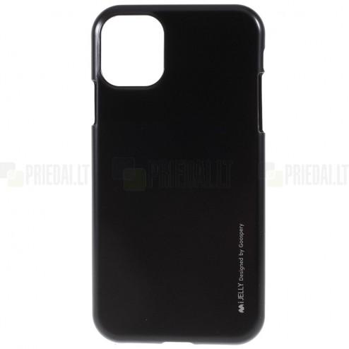 Apple iPhone 11 Pro Mercury melns cieta silikona (TPU) apvalks