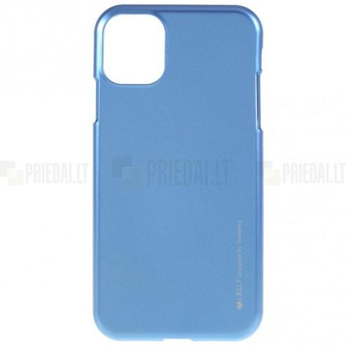 Apple iPhone 11 Pro Mercury zils cieta silikona (TPU) apvalks