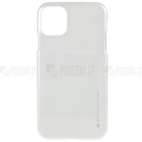 Apple iPhone 11 Pro Mercury sudrabs cieta silikona (TPU) apvalks