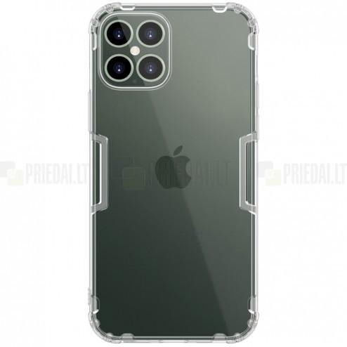 Apple iPhone 12 Pro Max Nillkin Nature dzidrs (caurspīdīgs) silikona planākais apvalks