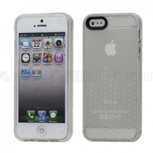 Apple iPhone 5, 5S dzidrs cieta silikona futrālis