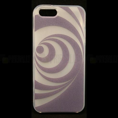 """Bullet"" Apple iPhone 5, 5S cieta silikona futrālis - Hypnosis (hipnoze)"