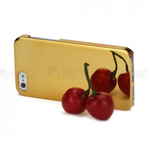 Spogulis zelts Apple iPhone 5 5S apvalks