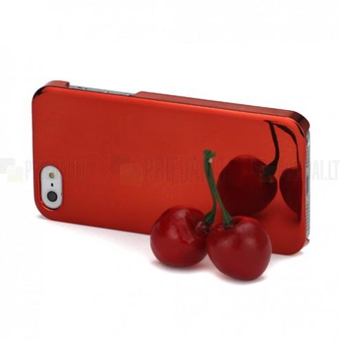 Spogulis sarkans Apple iPhone 5 5S apvalks
