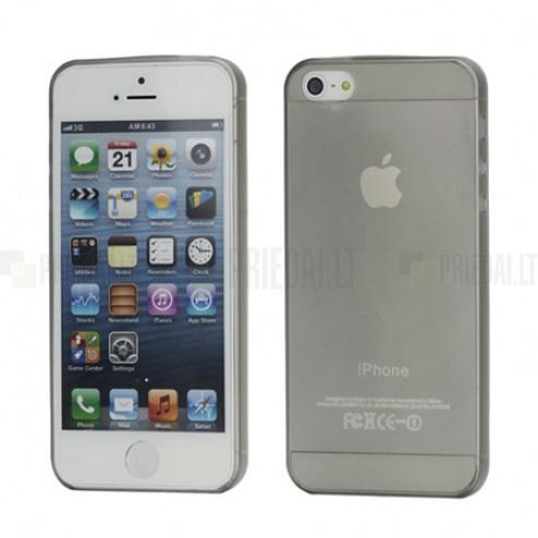 Apple iPhone 5 pasaulē planākais pelēks futrālis