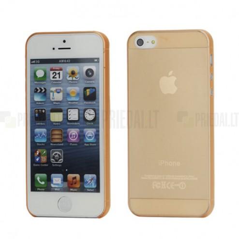 Apple iPhone 5 pasaulē planākais oranžs futrālis