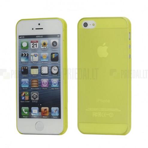 Apple iPhone 5 pasaulē planākais dzeltens futrālis