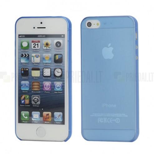 Apple iPhone 5 pasaulē planākais zils futrālis