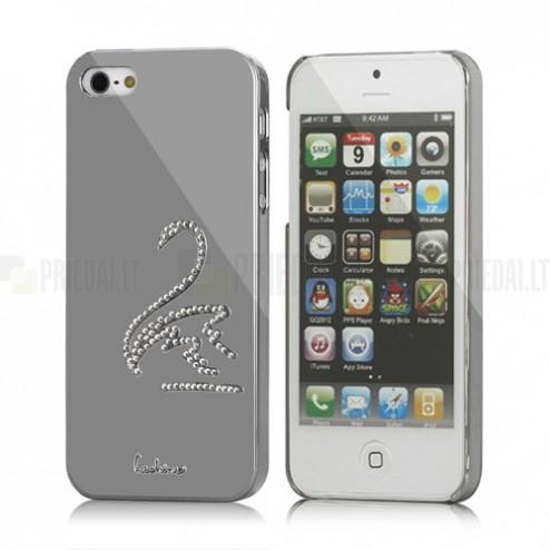 """Leshine"" sudraba Apple iPhone 5S apvalks - gulbis"