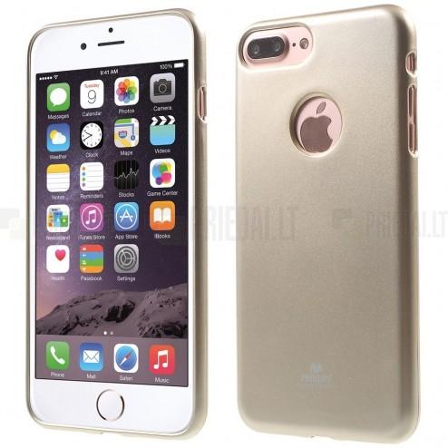 Apple iPhone 7 Plus (iPhone 8 Plus) Mercury zelts cieta silikona (TPU) apvalks
