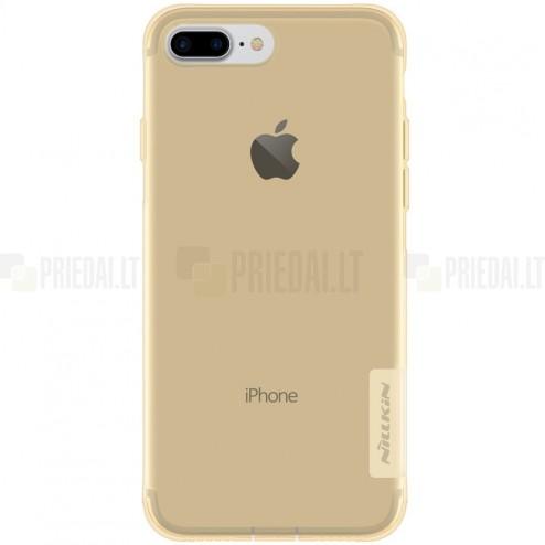 Apple iPhone 7 Plus (iPhone 8 Plus) Nillkin Nature dzidrs (caurspīdīgs) silikona brūns apvalks