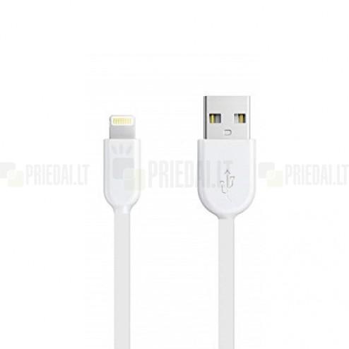 Forever Lightning USB balts vads piemērots iPhone 6, 6 Plus, 5, 5S, iPad Air, iPad mini, iPod (MFi sertifikāts)