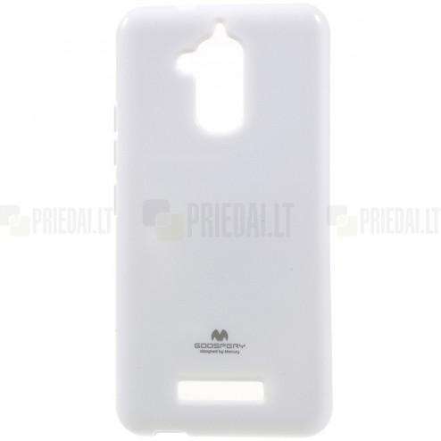 Asus Zenfone 3 Max (ZC520TL) Mercury balts cieta silikona (TPU) futrālis