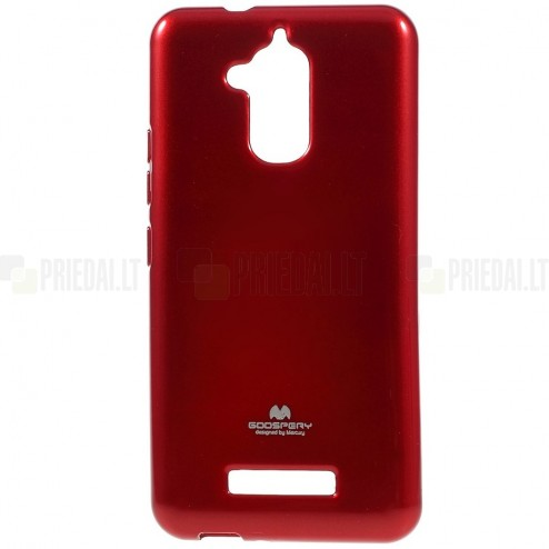 Asus Zenfone 3 Max (ZC520TL) Mercury sarkans cieta silikona (TPU) futrālis