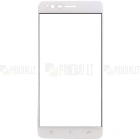 Asus Zenfone 3 Zoom (ZE553KL) Calans Tempered Glass balts ekrāna aizsargstikls