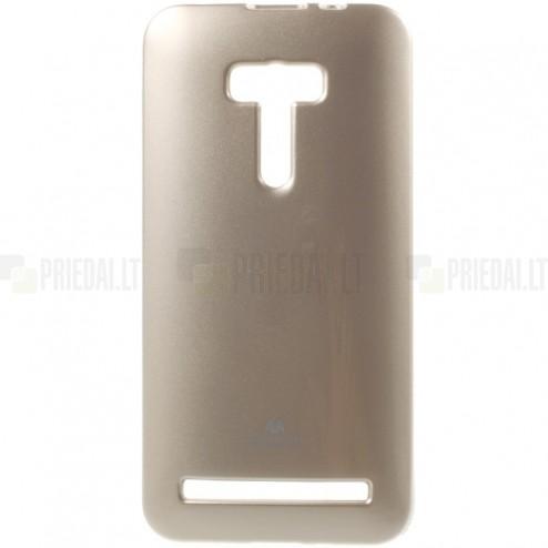 Asus Zenfone Selfie (ZD551KL) Mercury zelta cieta silikona (TPU) futrālis