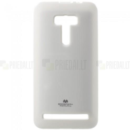 Asus Zenfone Selfie (ZD551KL) Mercury balts cieta silikona (TPU) futrālis