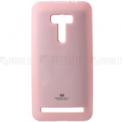 Asus Zenfone Selfie (ZD551KL) Mercury gaiši rozs cieta silikona (TPU) futrālis