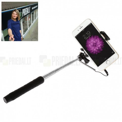 """""""Baseus"""" Mini teleskopiskais selfija statīvs-turētājs – monopod"""