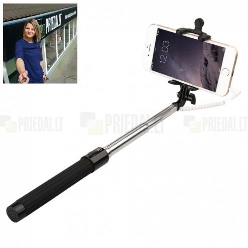 """""""Baseus"""" Pro teleskopiskais selfija statīvs-turētājs – monopod"""