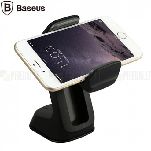 """Baseus"" Z Car Mount melns telefona autoturētājs"