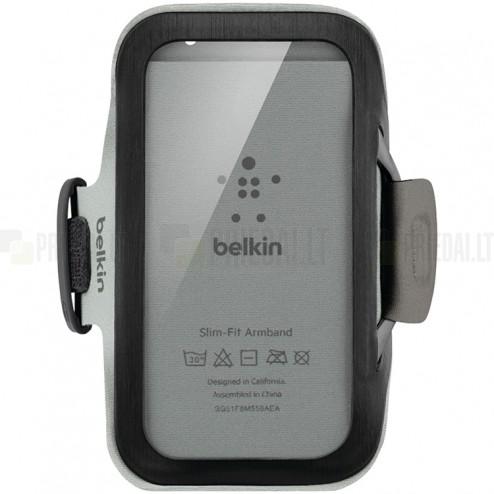 Belkin Slim-Fit Armband futrālis sportam (rokas saite) - melns, universāls (L+ izmērs)