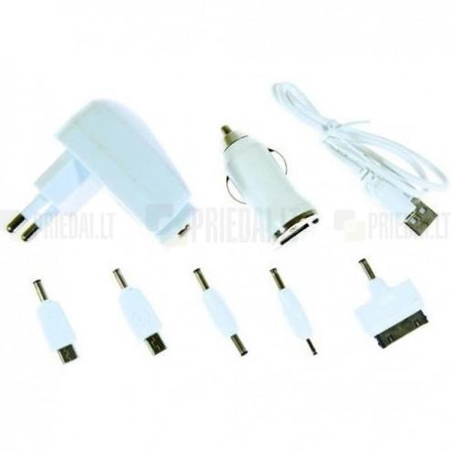 """""""Bottari"""" lādētāju komplekts (1A) ar USB vadu"""