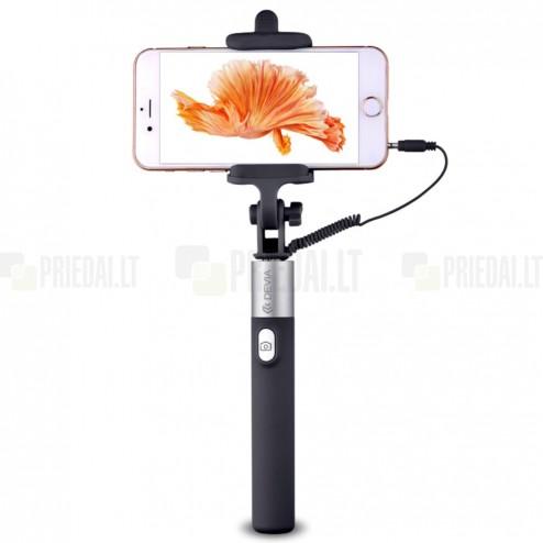 """""""Devia"""" Focus Selfie Stick teleskopiskais selfija zelta statīvs-turētājs – monopod"""