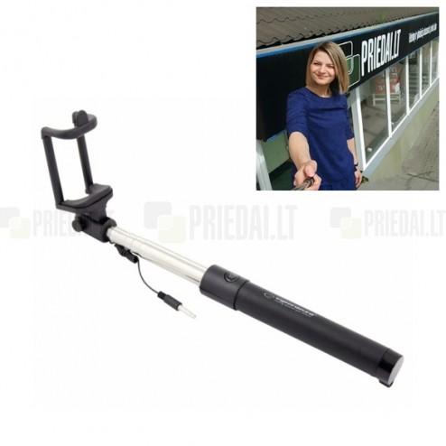 """""""Esperanza"""" Wired teleskopiskais selfija statīvs-turētājs – monopod"""