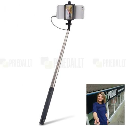 """""""Forever"""" teleskopiskais selfija statīvs-turētājs – monopod"""