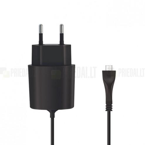 """""""Forever"""" tīkla lādētājs ar iebūvētu micro USB vadu (Eiropa)"""