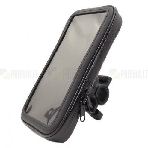 """Handlebar"" melns universāls telefona futrālis velosipēdam (M)"