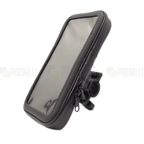 """""""Handlebar"""" melns universāls telefona futrālis velosipēdam (S)"""