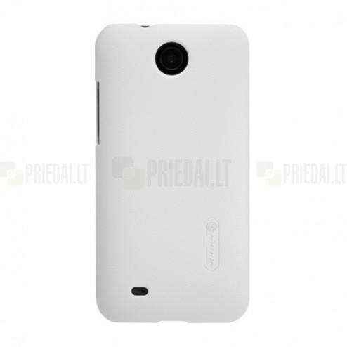 HTC Desire 300 Nillkin Frosted Shield balts plastmasas futrālis + ekrāna aizsargplēve