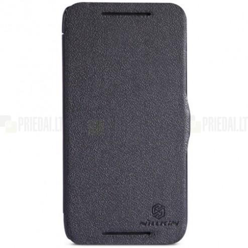 "HTC Desire 601 ""Nillkin"" Fresh atvēramais melns futrālis"