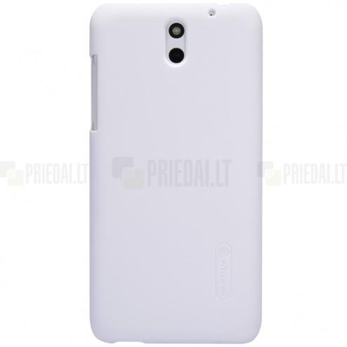HTC Desire 610 Nillkin Frosted Shield balts plastmasas futrālis + ekrāna aizsargplēve