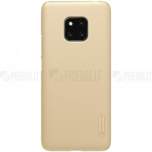Huawei Mate 20 Pro Nillkin Frosted Shield zelta plastmasas apvalks