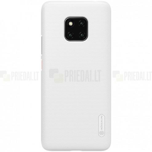 Huawei Mate 20 Pro Nillkin Frosted Shield balts plastmasas apvalks