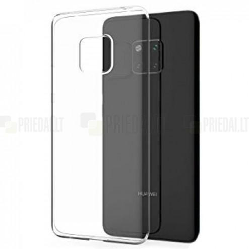 Huawei Mate 20 Pro dzidrs (caurspīdīgs) cieta silikona TPU pasaulē planākais apvalks