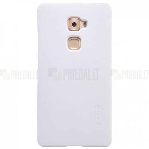 Huawei Mate S Nillkin Frosted Shield balts plastmasas apvalks + ekrāna aizsargplēve