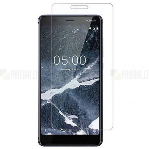 Nokia 5.1 (2018) dzidrs ekrāna aizsargstikls (Tempered Glass)