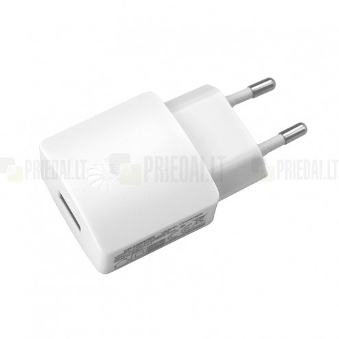 "Origināls ""Huawei"" balts tīkla lādētājs (HW-050100, Eiropas modelis) 1 amp"