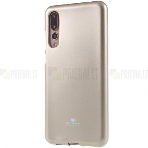 Huawei P20 Pro Mercury zelta cieta silikona (TPU) apvalks